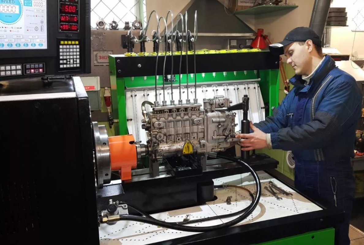 Топливная аппаратура двигателей